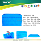 Foldable Collapsible Tesco Cheap Plastic Storage Garden Food Crate Boxes Bin