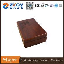 2017 popularity style rectangle original wooden table box as gift