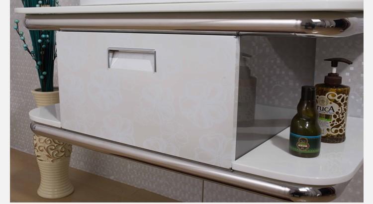 Marble Tope Modern Bathroom Vanity Unit With Basin