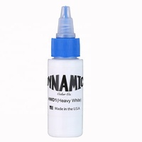 Original Dynamic 1 oz Heavy White color tattoo ink