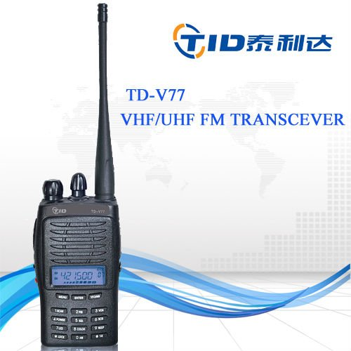 Wholesale wireless hotel portable radio TD-V77 ht two way walkie talkie