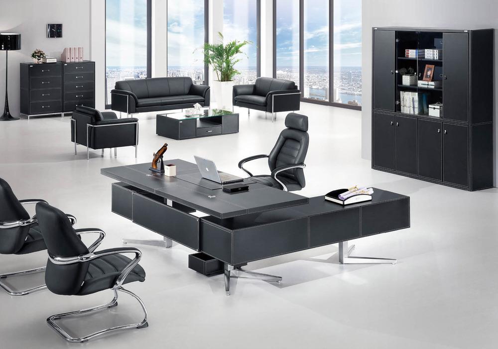 F 01 moderna base de acero inoxidable muebles de oficina for Estilos de oficinas modernas