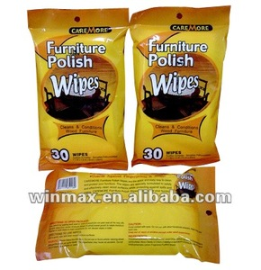 Hot Sale Furniture Polish Wipes