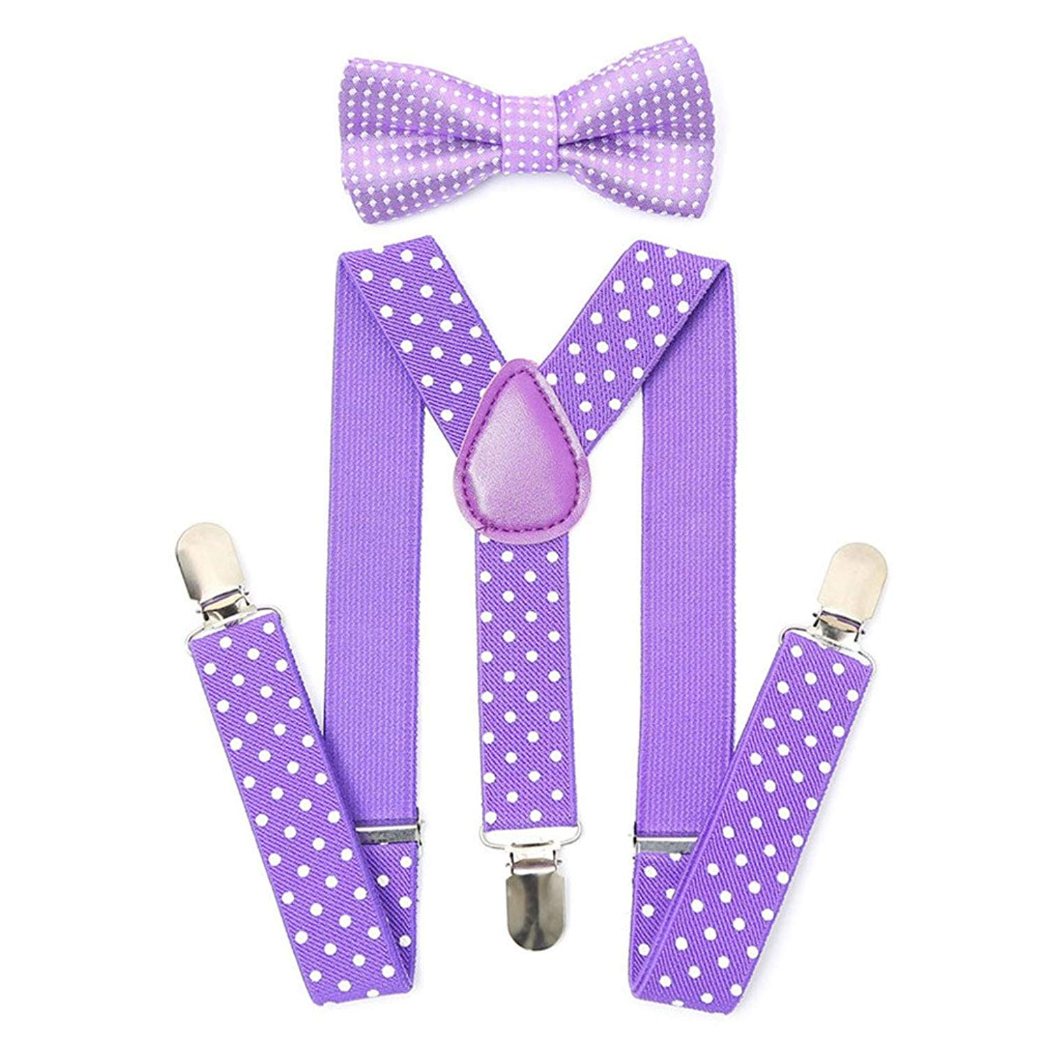 Button End Suspenders Kids/Boys Girls Toddler Baby Leather Button Tabs