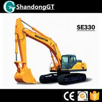 widely used excavator for sale SHANTUI SE330 escavator