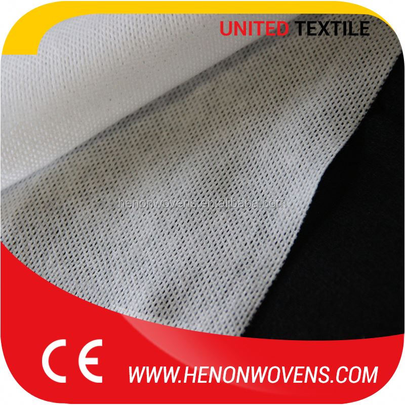 Cheap Goods From China, Nonwoven Viscose / Polyester White Colour Mesh Spunlace Fabric Roll