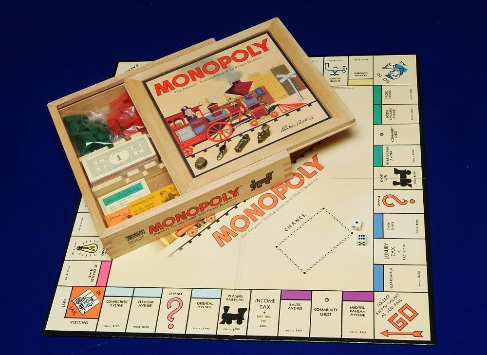 Papel Personalizado Monopolio Juego De Cartas Juego De Mesa Monopoly