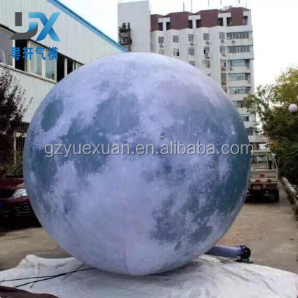 New design <strong>inflatable</strong> led lighting <strong>inflatable</strong> moon planets for decor