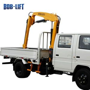 New best hydraulic knuckle boom 2 ton crane for truck