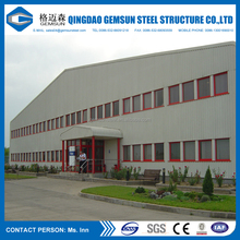 Modular cheap prefabricated steel structure aircraft hangar