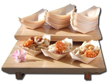 Disposable Pine Wooden Serving Plate/Bowl/Tray/Boat  sc 1 st  Alibaba & Disposable Pine Wooden Serving Plate/bowl/tray/boat - Buy Sushi ...