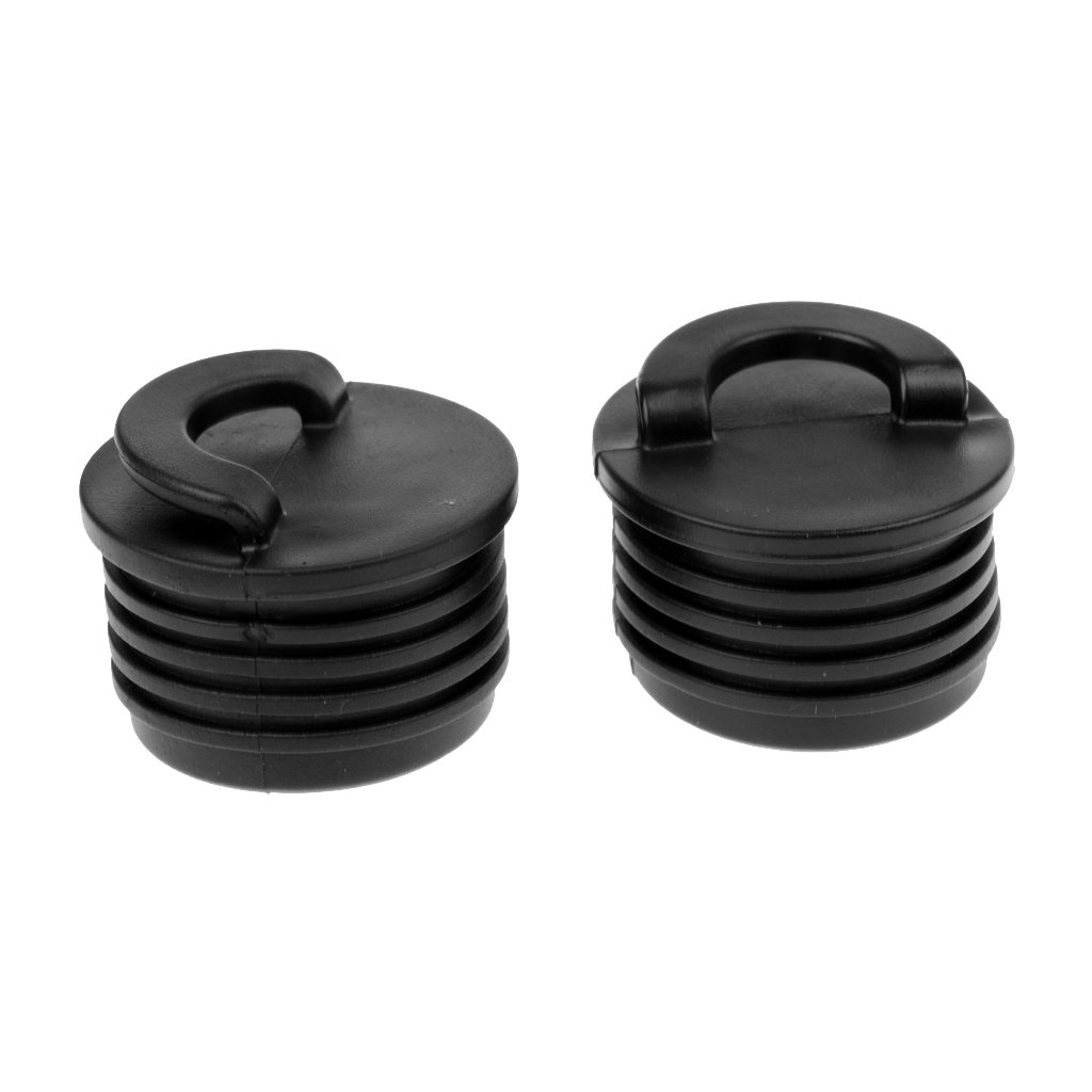 Dovewill 2 Pieces Marine Plastic Scupper Plugs Bungs Replacement for Kayak Canoes Boat
