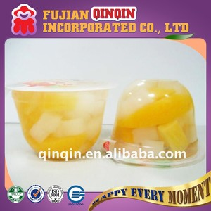 200g nutritious juicy jelly mixed fresh real fruit slices