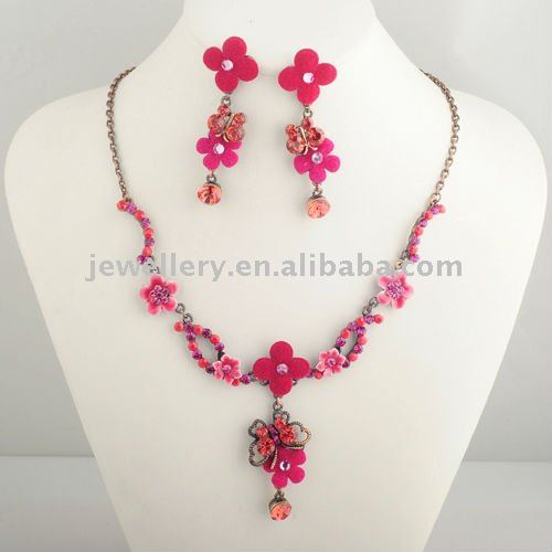 rhinestone jewelry set,cheap sale african necklace set jewelry,indian jewelry