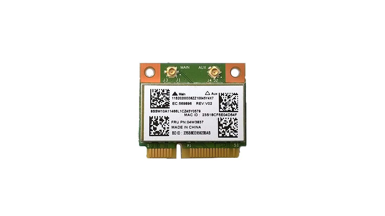 802.11BGN WiFi&Bluetooth 4.0 for Lenovo G400/G410/G500/G510/G405/G505/E431/E531/E430C/E530C/E135/E145/X140E/S431/S531/L430/L530/E535/E330/E335/E435/E545