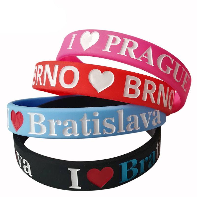 new product high quality fashion wristbands custom silicon bracelet ,silicone wristband, rubber band