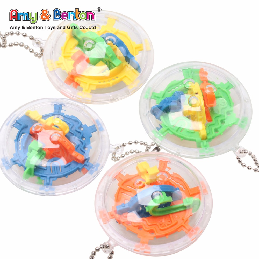 Hot sale puzzle toys plastic mini maze ball bearing maze game