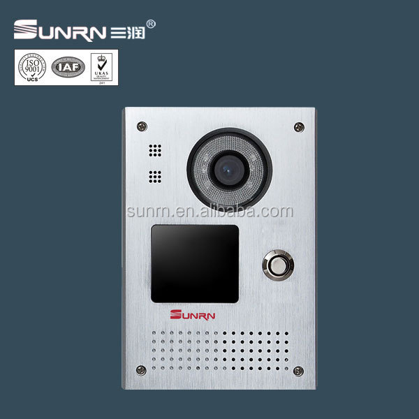 Camera doorphone monitor video door phone security Villa analog 4+2wire Audeo door phone intercom lcd door 7inch