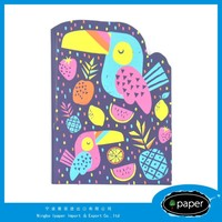 Factory Price Advantage die cut pocket notebook folders for students
