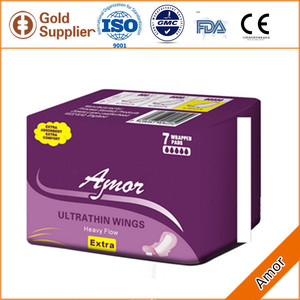 Hygiene products medical angel wing side tape sanitary pad