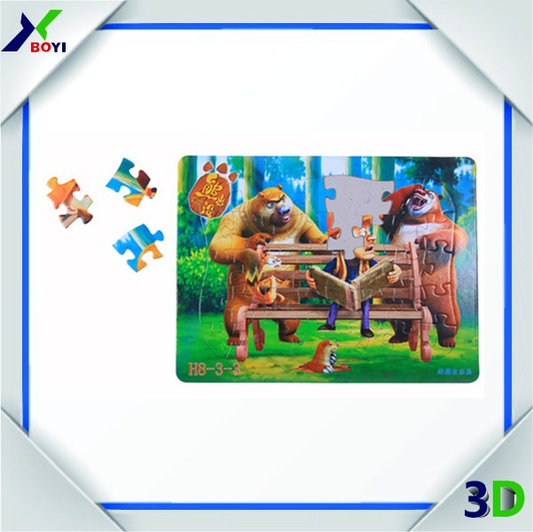 World Famous Architecture Model,3d Puzzle Mini Architecture