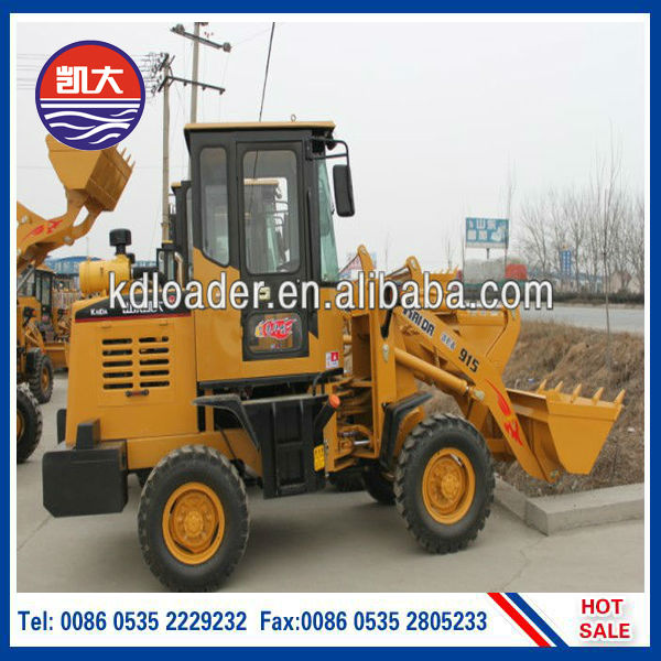 ZL-915 Small wheelLoader with 4wd