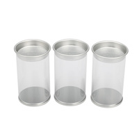 Clear PVC Cylinder Container/PVC Round Box Wholesale Clear Plastic Tube Packaging