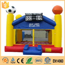 2017 Best design inflatable baby bouncer basketball