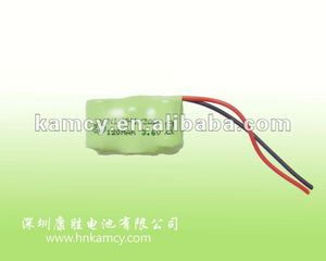 3.6v 120mAh 1/3AAA Ni-Mh rechargeable battery pack