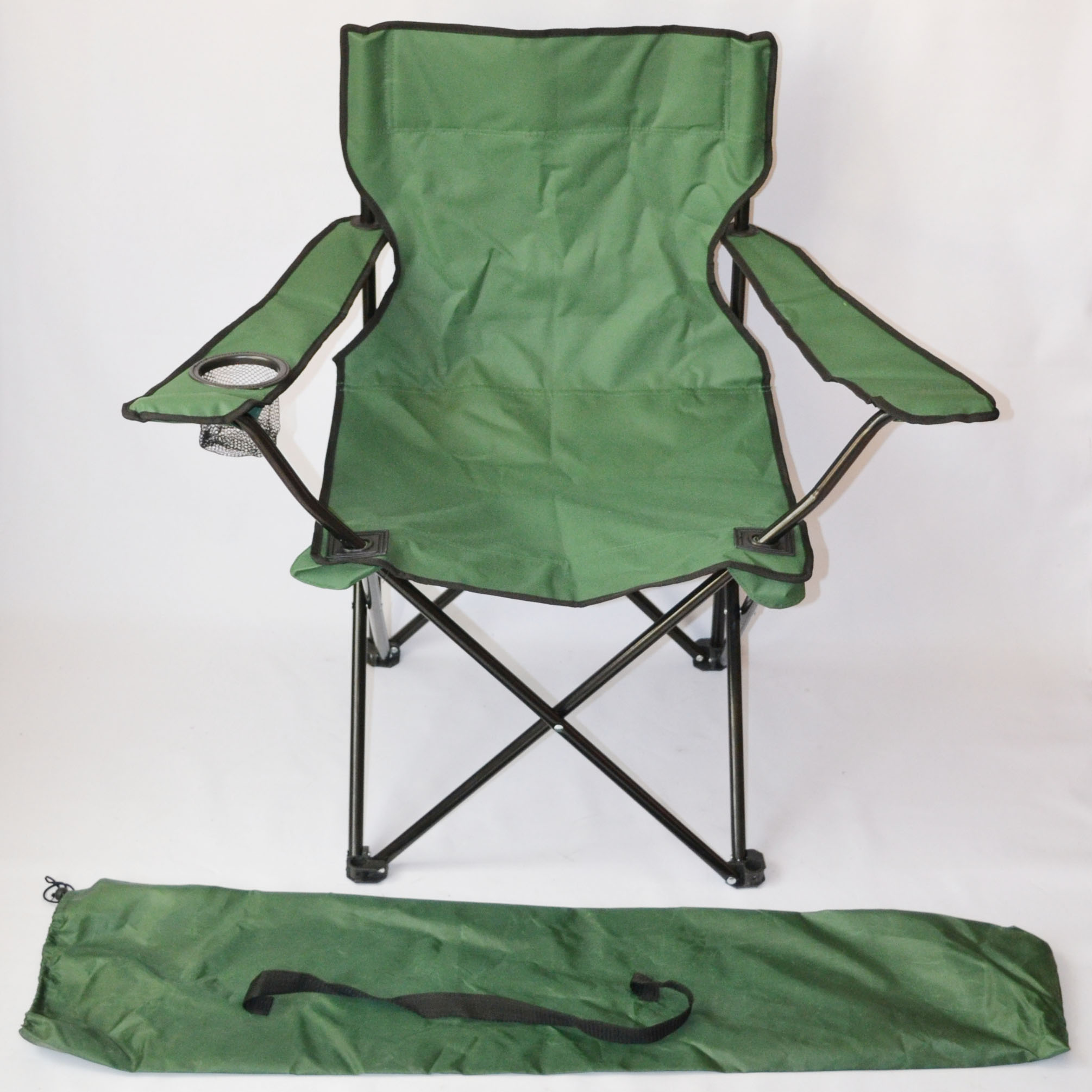 Outdoor Lightweight Folding Armrest captain tailgate director camping chair