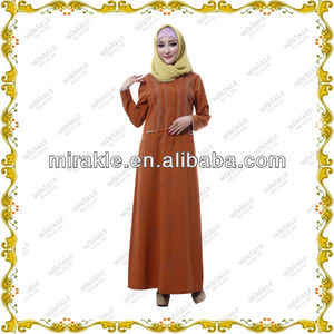 MF19796 cotton design muslim abaya resort wear tunics