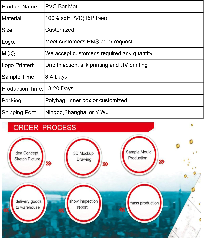Customized Eco-friendly Rubber Bar Mat Bar Runner - Buy Bar Mat,Soft Pvc  Bar Mat,Bar Runner Product on Alibaba com