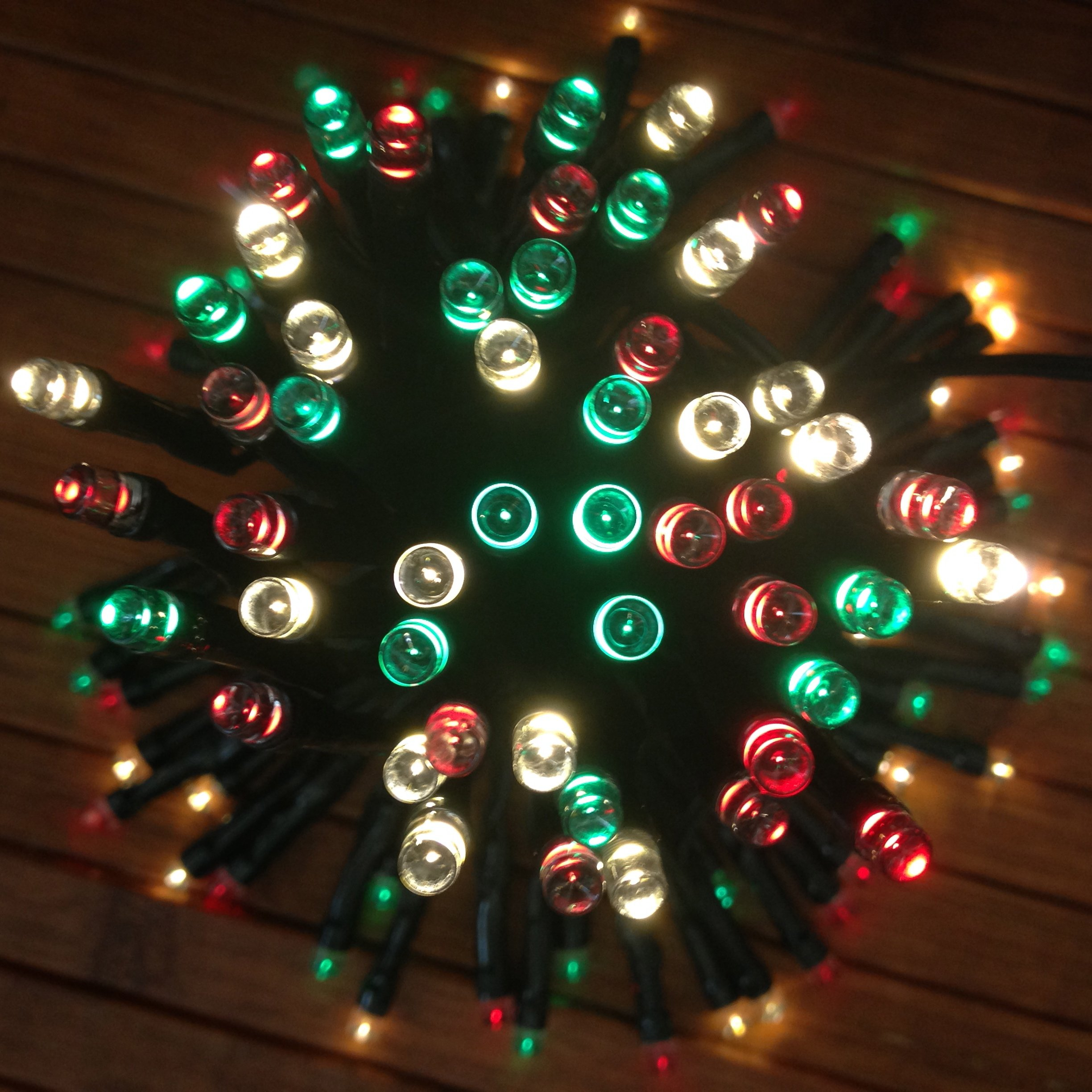 get quotations devida christmas solar string lights 100 waterproof mini led set 13ft lead wire for