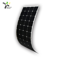 whole sale high quality sunpower cell material flexible solar panel 150w