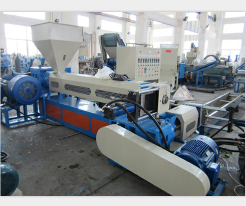 afval plastic folie recycling machine
