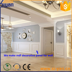 MDF interior decorative wall covering panels