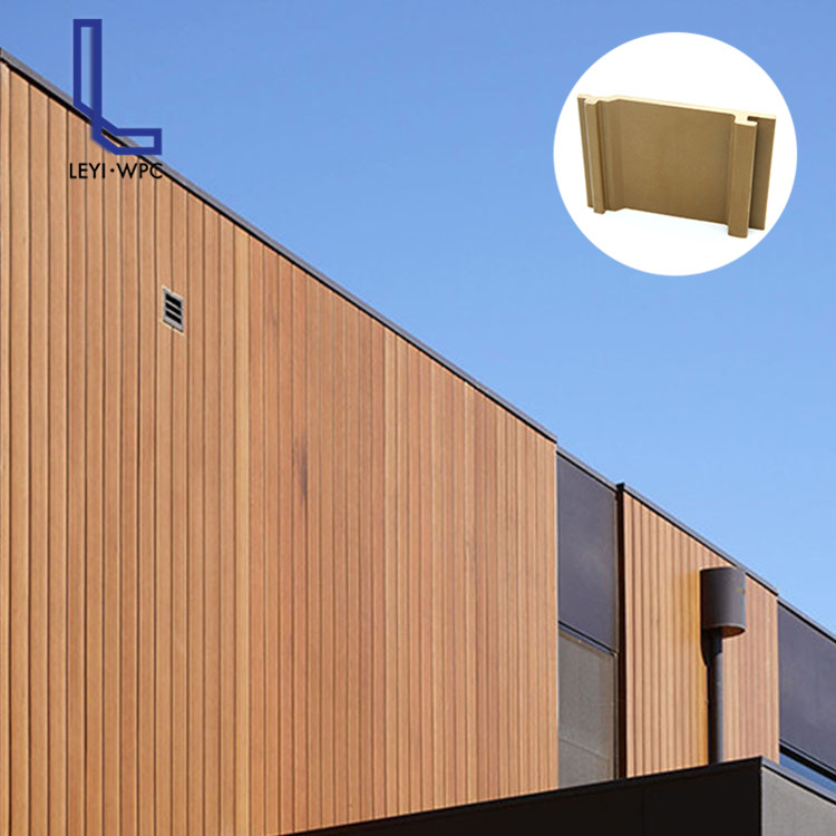 Composite Wood Plastic Exterior Wall