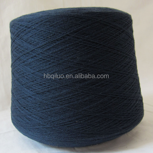 Fancy Colour 60/3 Woolen Wool Fabric 100% Viscose Silk Neps Yarn 20 Wool 80 Viscose Blended Dyed Yarn for Scarf Weaving