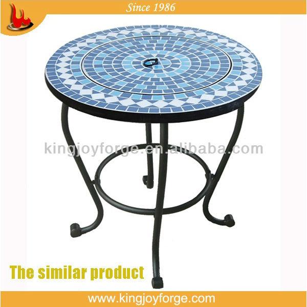 Garden coffee table set/Outdoor bistro coffee table set/Patio mosaic ...