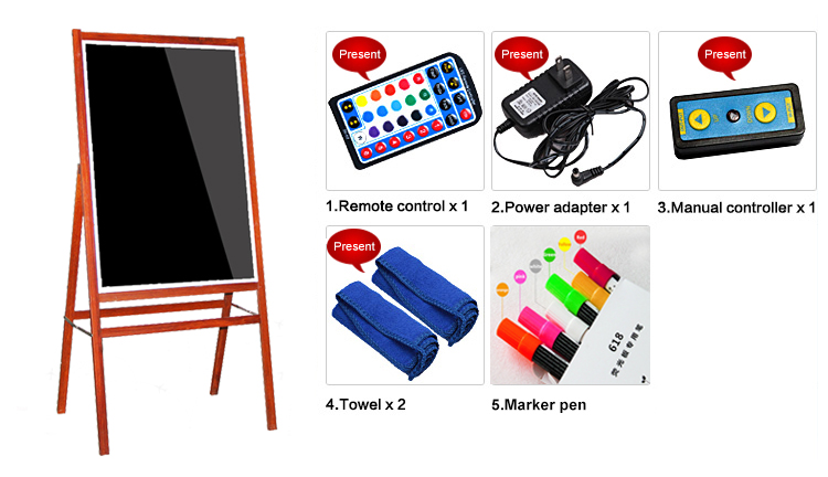 led writing boards wholesale