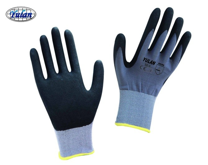 Nitrile <strong>GLOVE</strong> NBR coated Nylon <strong>gloves</strong>