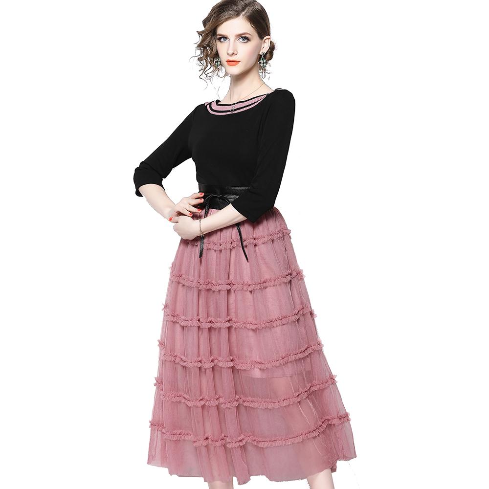 7e0d5c5c7945751 Товары оптом на Alibaba.com - вязание платья трехчетвертной рукав