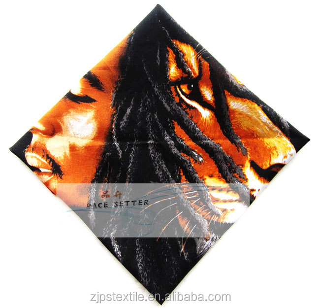 Digital printing bandana 100% cotton reactive dye competitive price