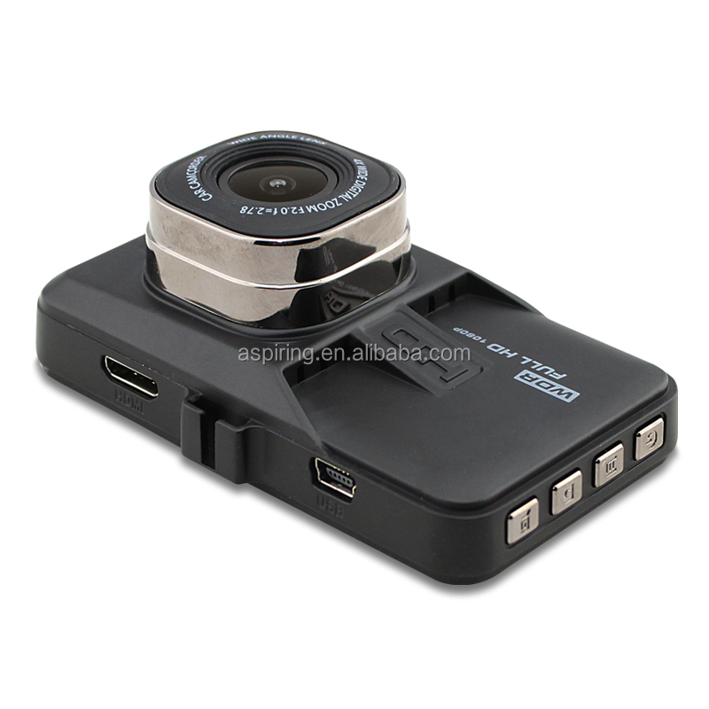 Factory Directly Original 3.0 inch LCD 170 degree OEM mini car recorder dvr 1080p car