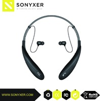In-ear Wireless Bluetooth neckband Headphone,connect with two device