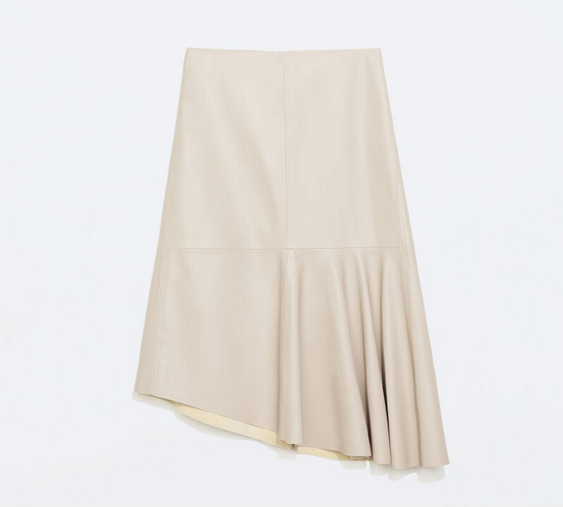 1eb2d7df8fdc1 Get Quotations · Summer Style2015 7XLPlus Size Women High Waist Faux  Leather Skirt Knee-length Pleated A-