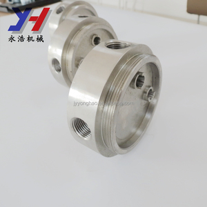 SGS ISO ROHS break sharp edges CNC machining hard pipe connection joint OEM  ODM factory as your drawing