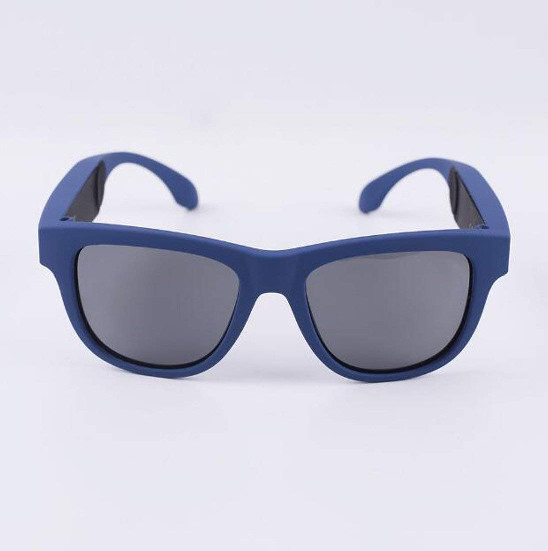 192f828a30a Get Quotations · Hzhy Bone conduction glasses G1 Bluetooth eyes driving  riding outdoor polarized touch movement eyes (Color