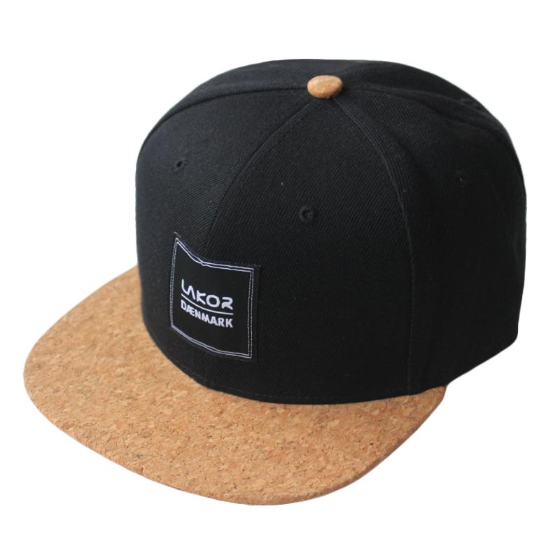 Custom Casquette Homme Cork Brim Black Snapback Hat Cap - Buy ... c00f68fdb88
