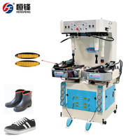 Automatic positioning universal wall type hydraulic sole pressing machine